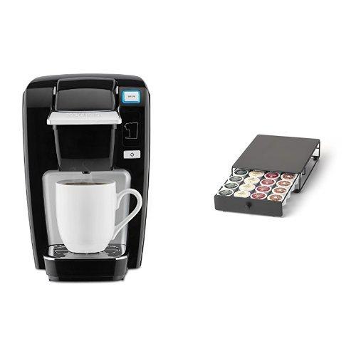 Keurig K15 Single Serve Compact K Cup Pod Coffee Maker Black