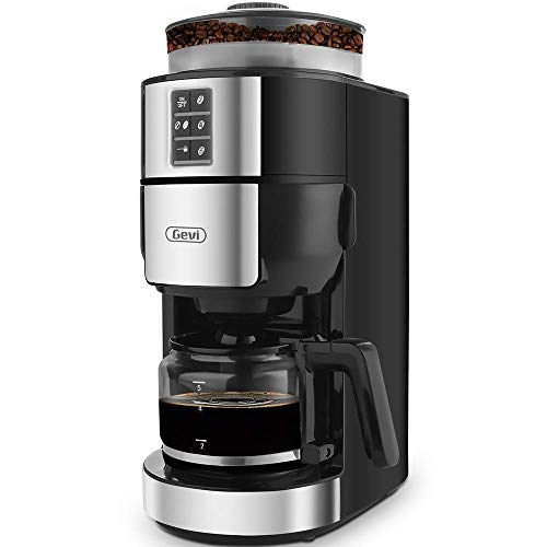 Grind And Brew Coffee Maker With Built In Burr Coffee
